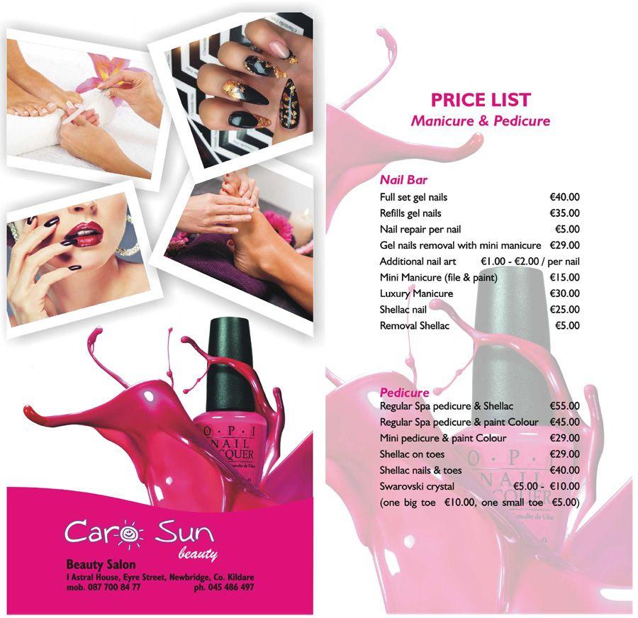 for A trial beauty treatment salon